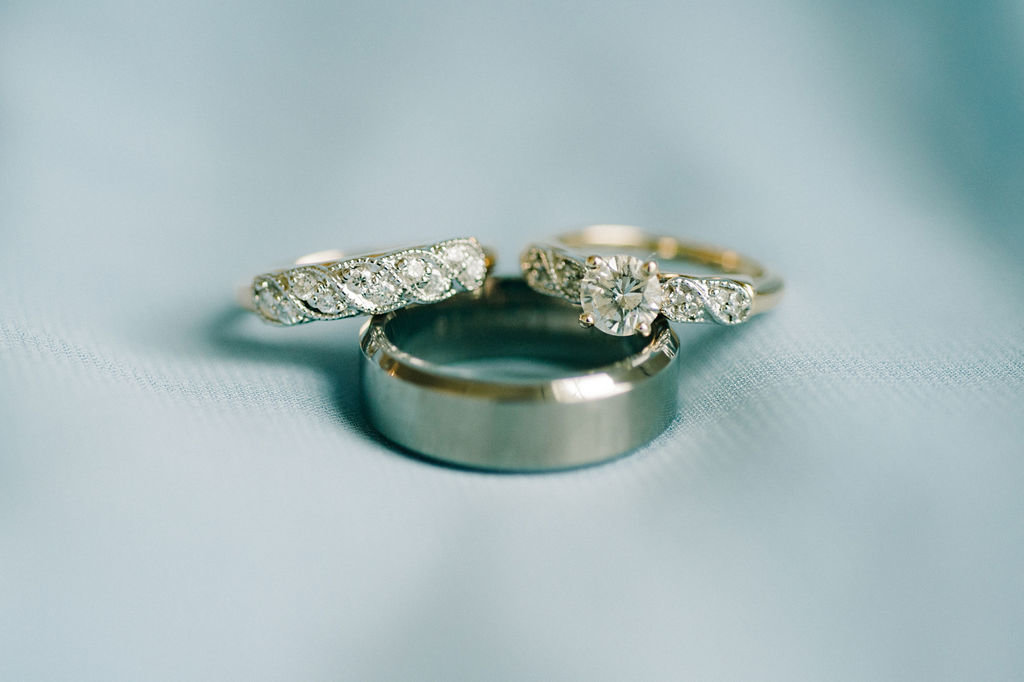 Wedding Rings for Birch/Taylor Wedding / Tyler Rosenthal Photography