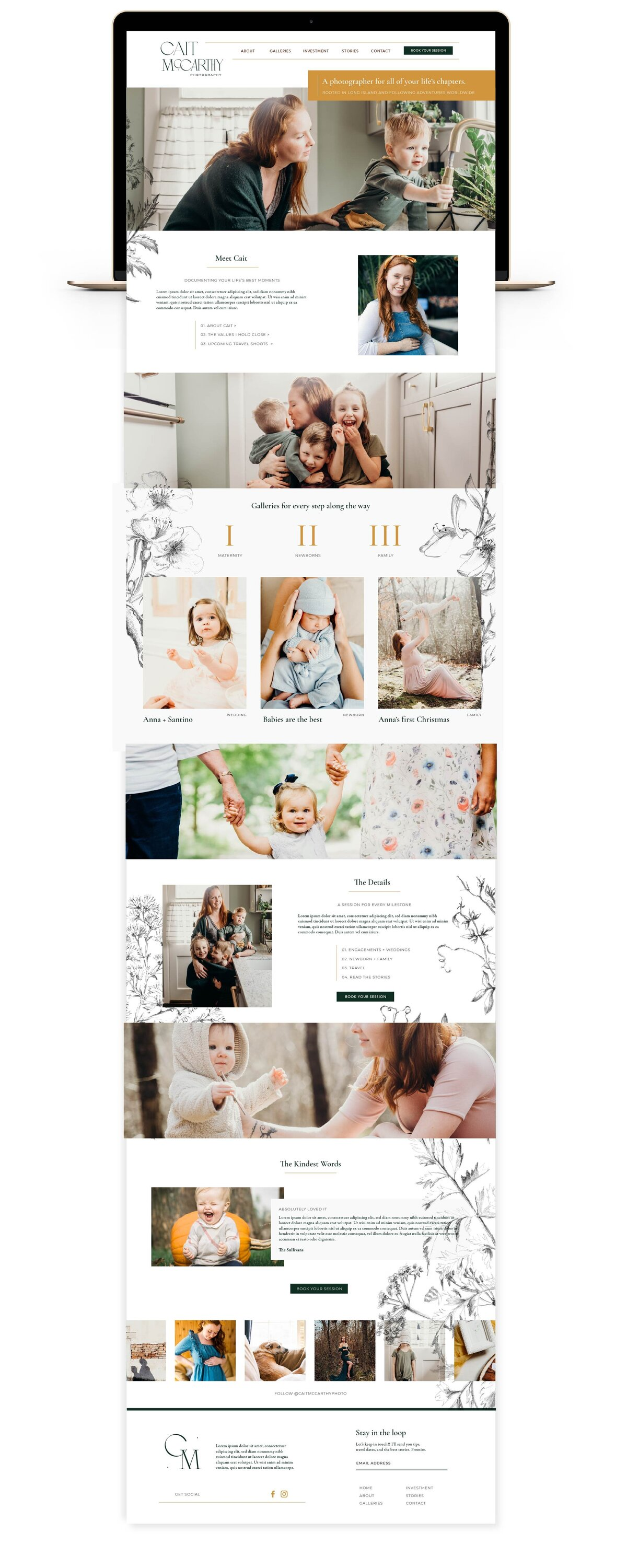 cait_Cait Mccarty Website Mockup