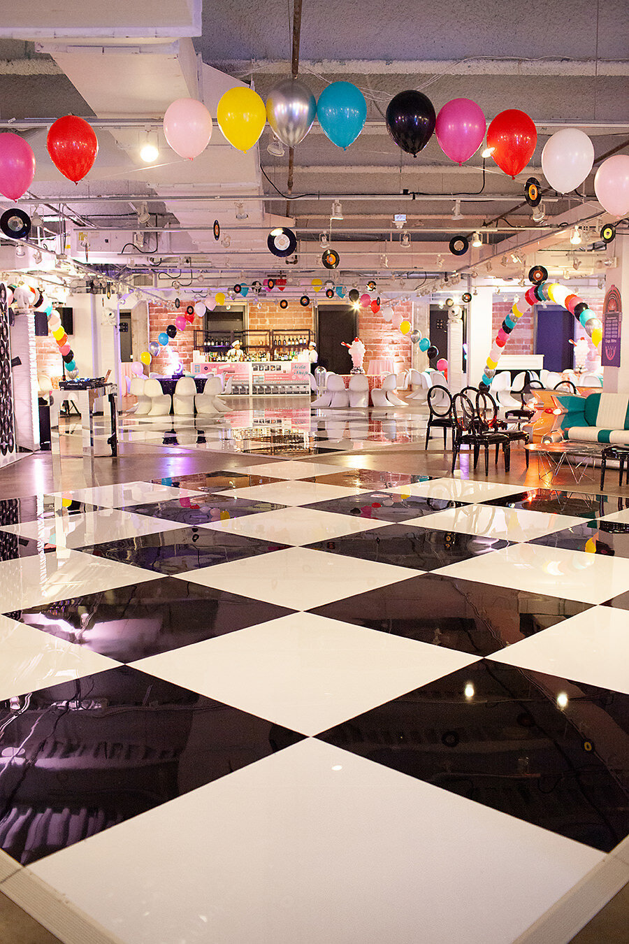 Pop Parties Corporate Event Planner Sock Hop Theme Party