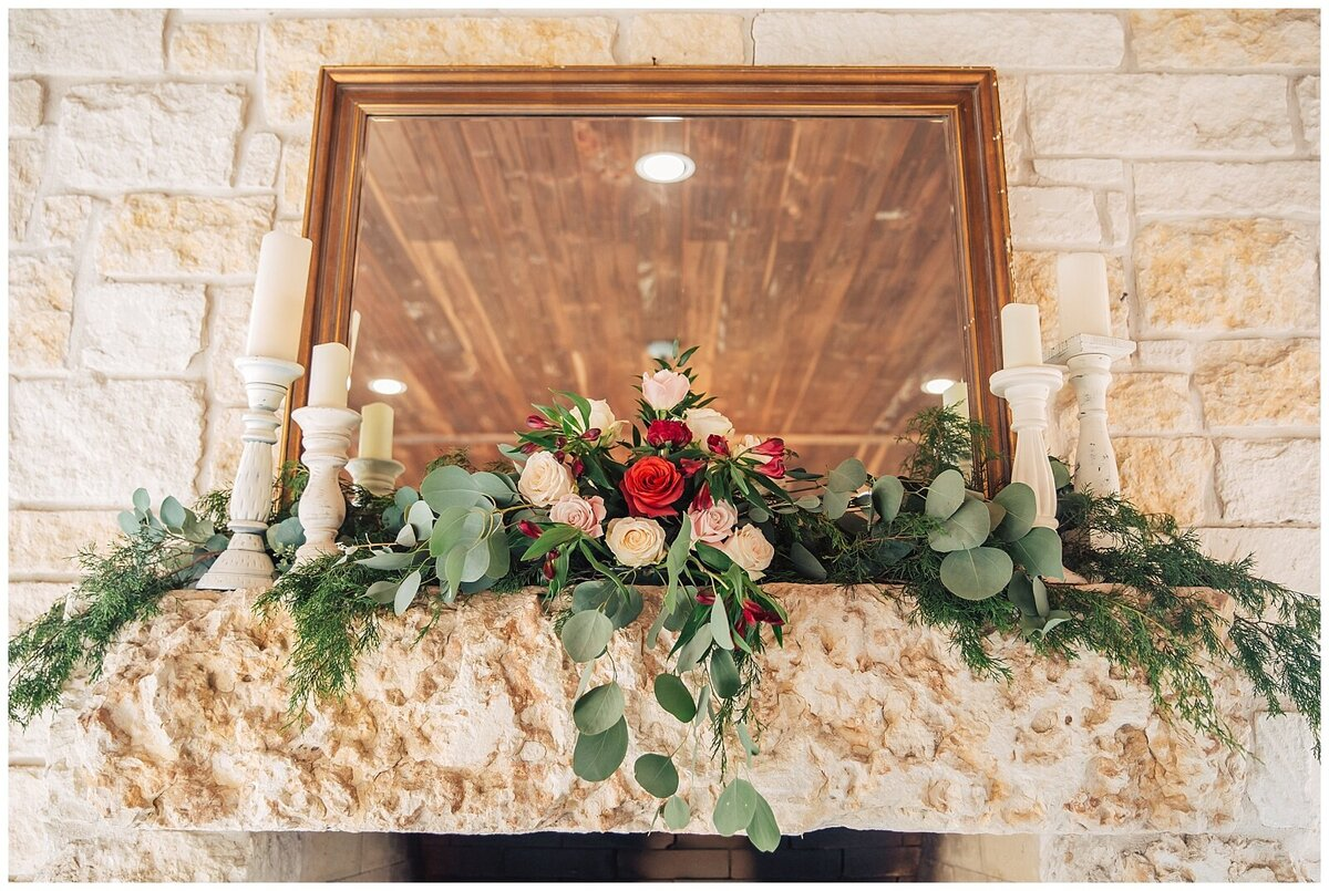 Rustic Burgundy and Blush Indoor Outdoor Wedding at Emery's Buffalo Creek - Houston Wedding Venue_0682