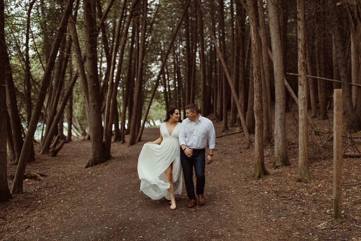 Green Lakes Elopement by Bridget