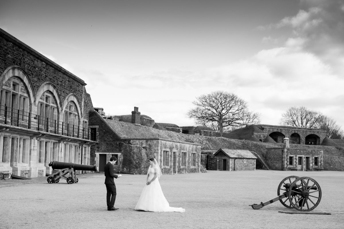 crownhill fort wedding