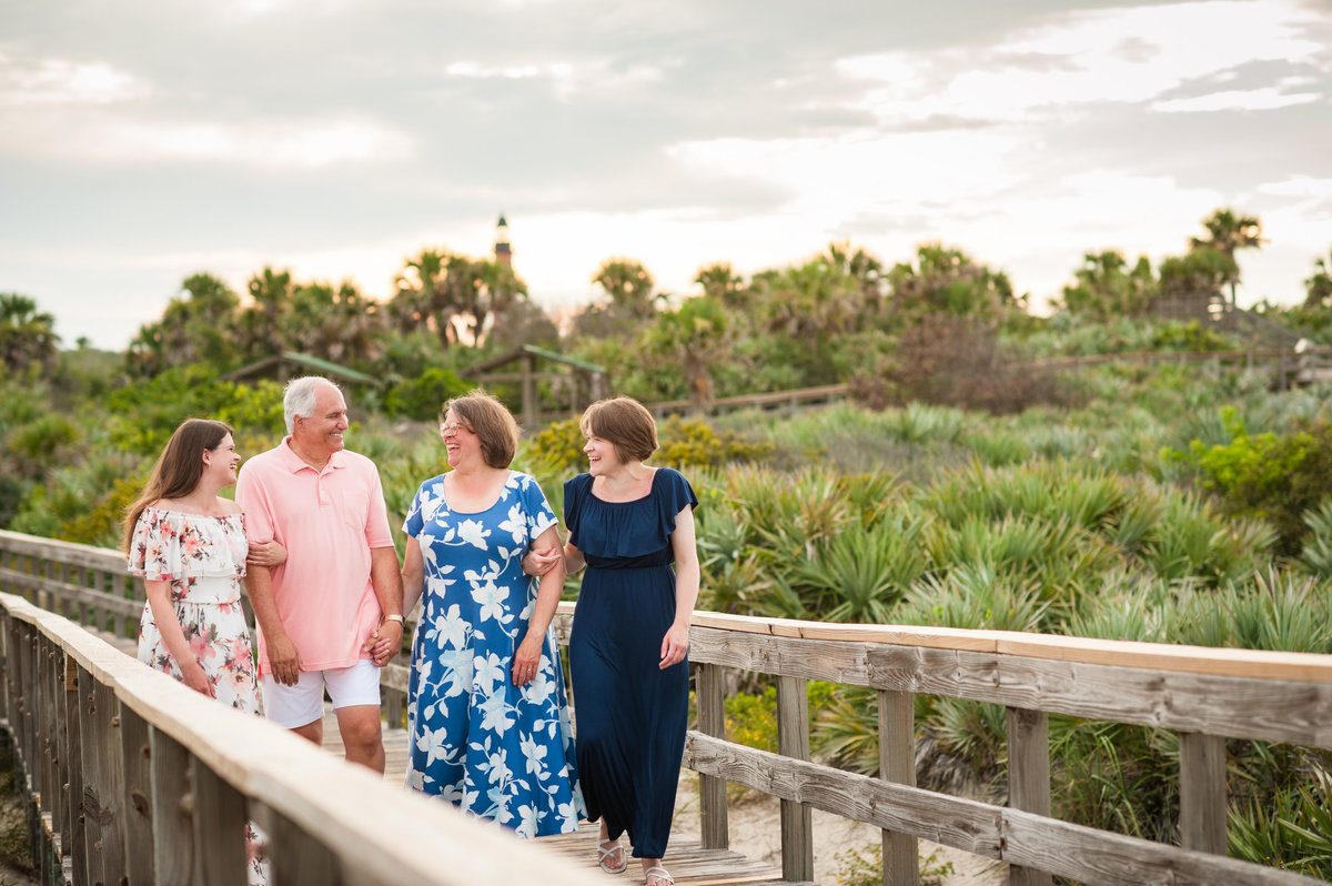 Ponce Inlet family photography