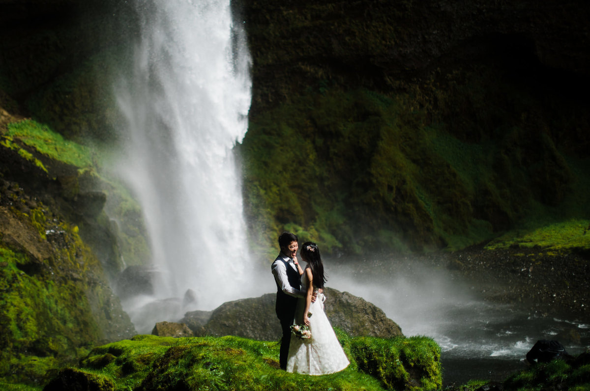 Bing and Jia's Iceland Elopement