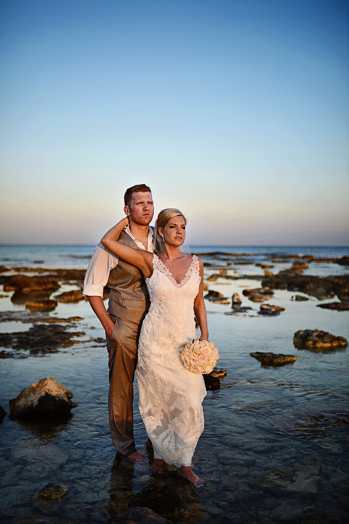 barcelo maya beach resort wedding destination wedding photographer bryan newfield photography 38