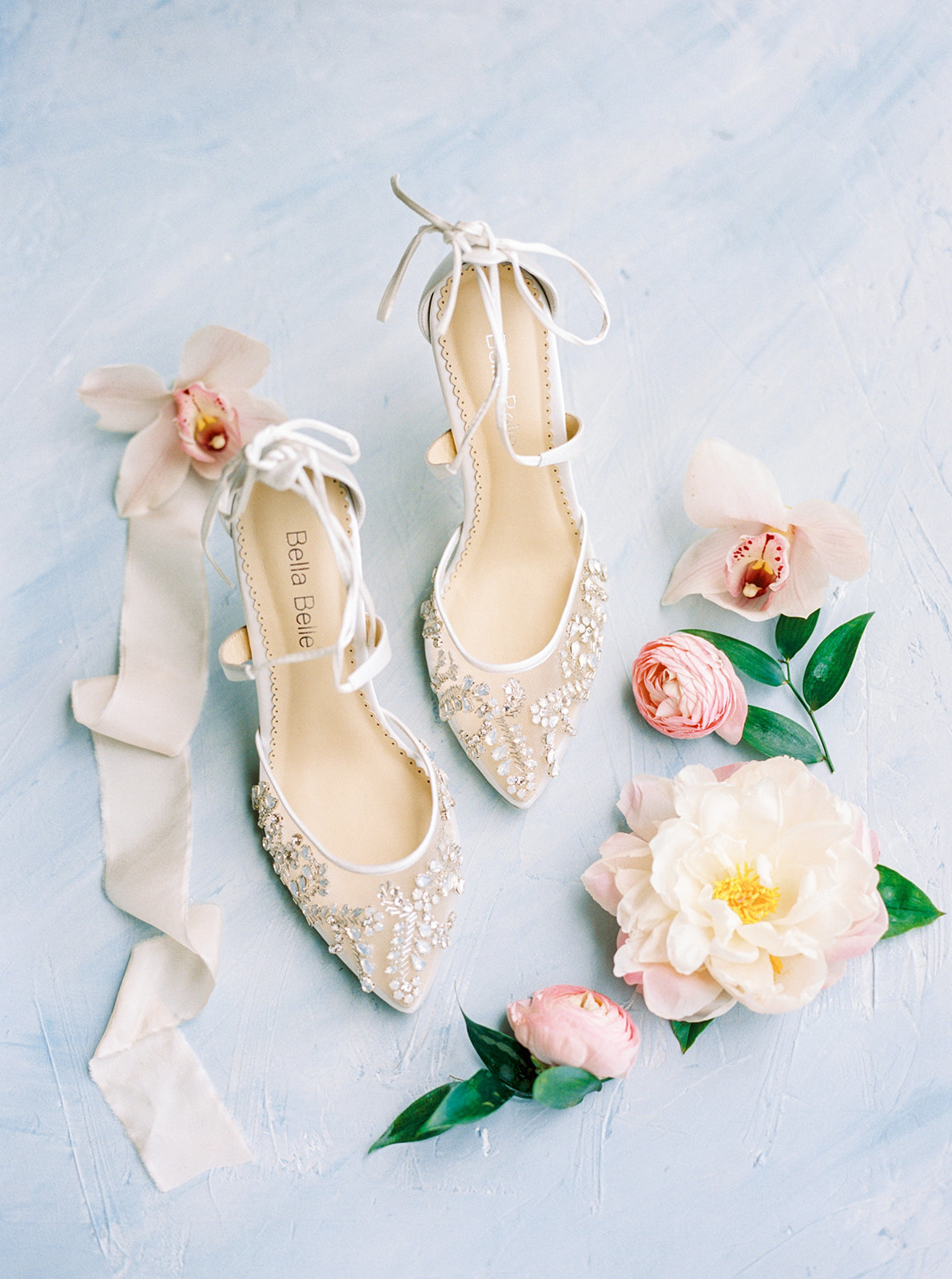 Elegant Bella Belle Bridal Shoes