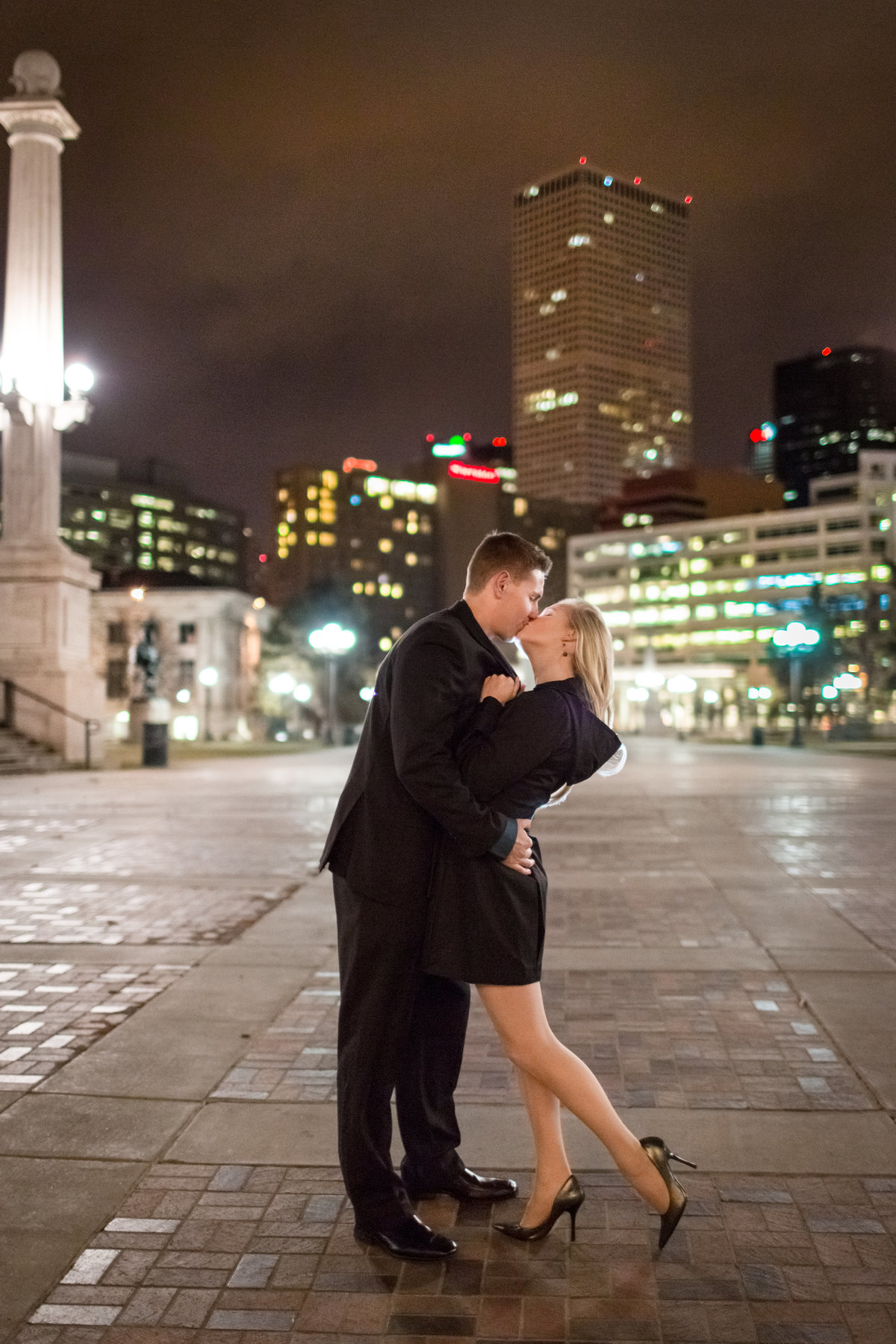 denver-nighttime-engagement-photos