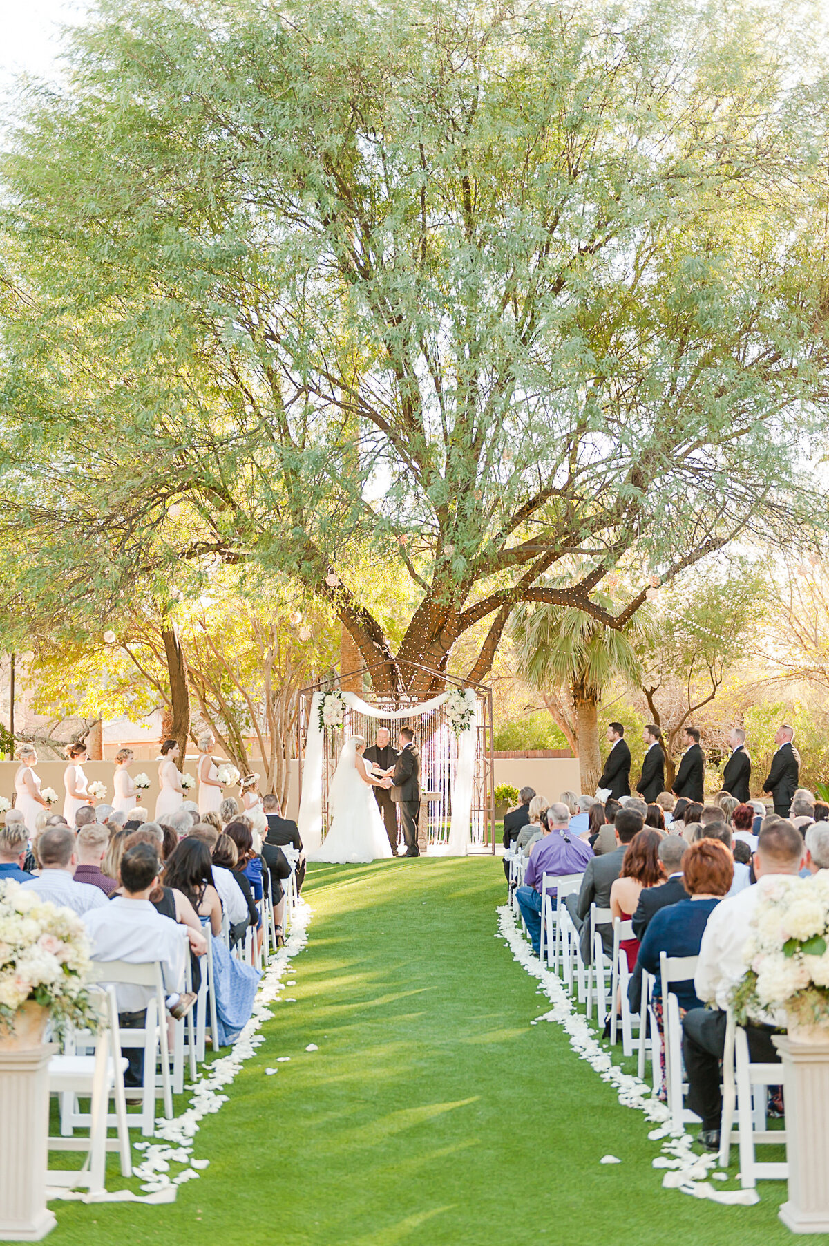 Secret Garden Event Center Wedding Photo by Leslie Ann Photography