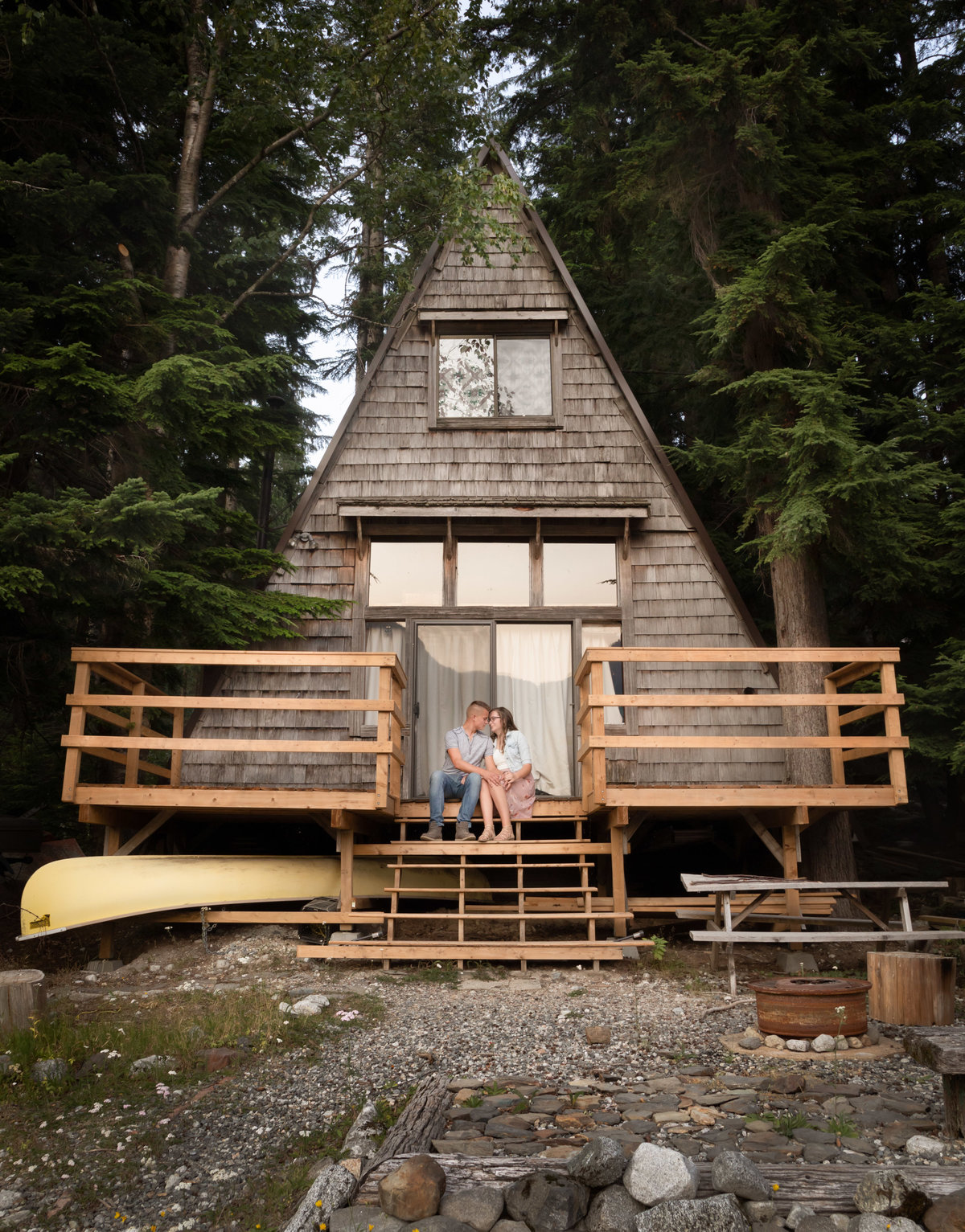 Wahleach Lake Adventure Engagement Chilliwack Elopement (11)