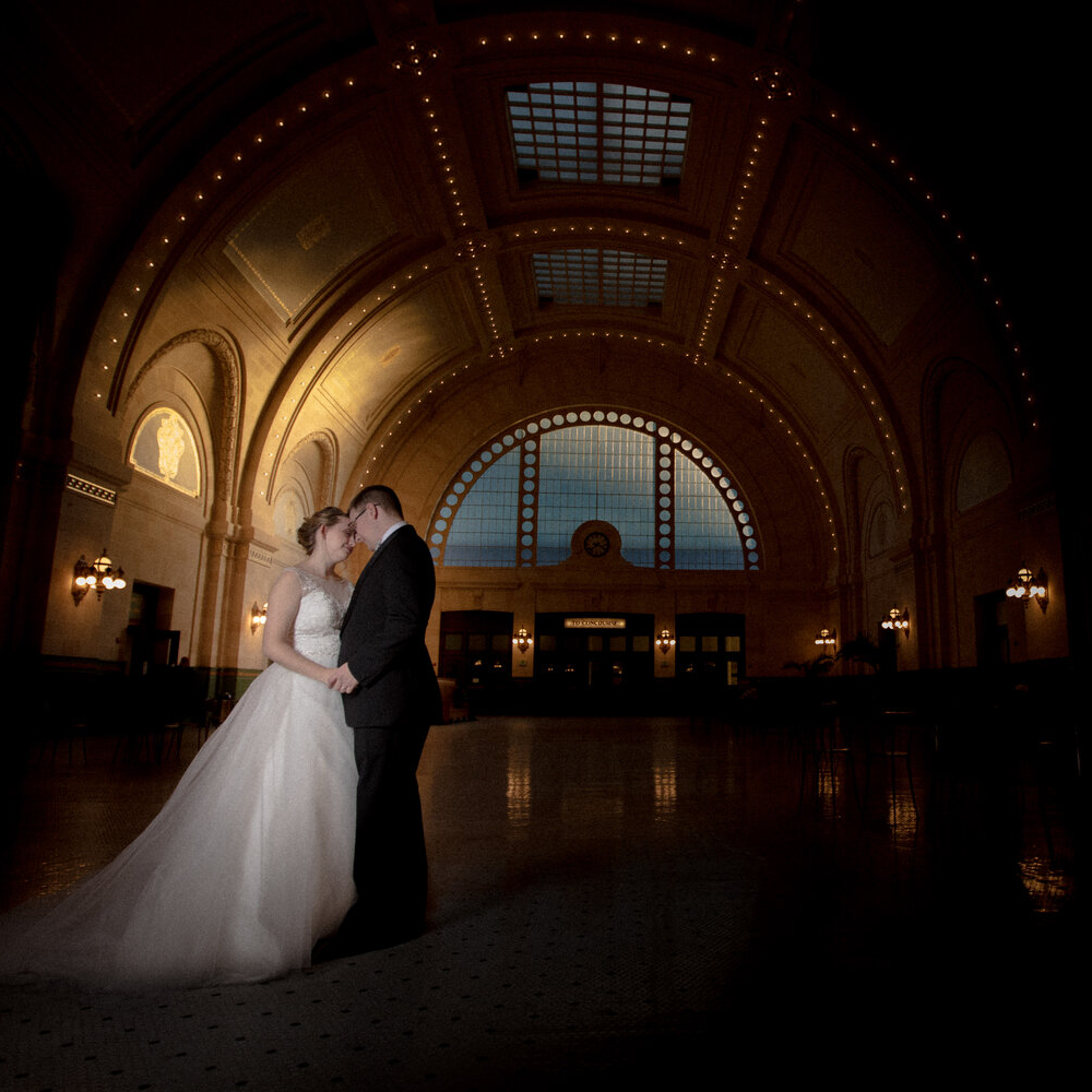 Seattle-Wedding-Photographer-And-Videographer-King Street Station Elopement