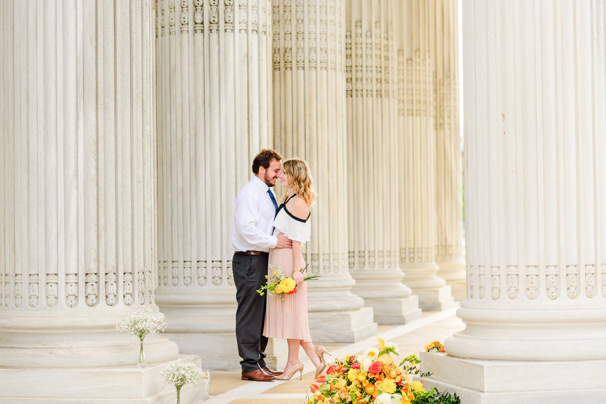 DC Sunrise Engagement Session-DAR Constitution Hall (38)