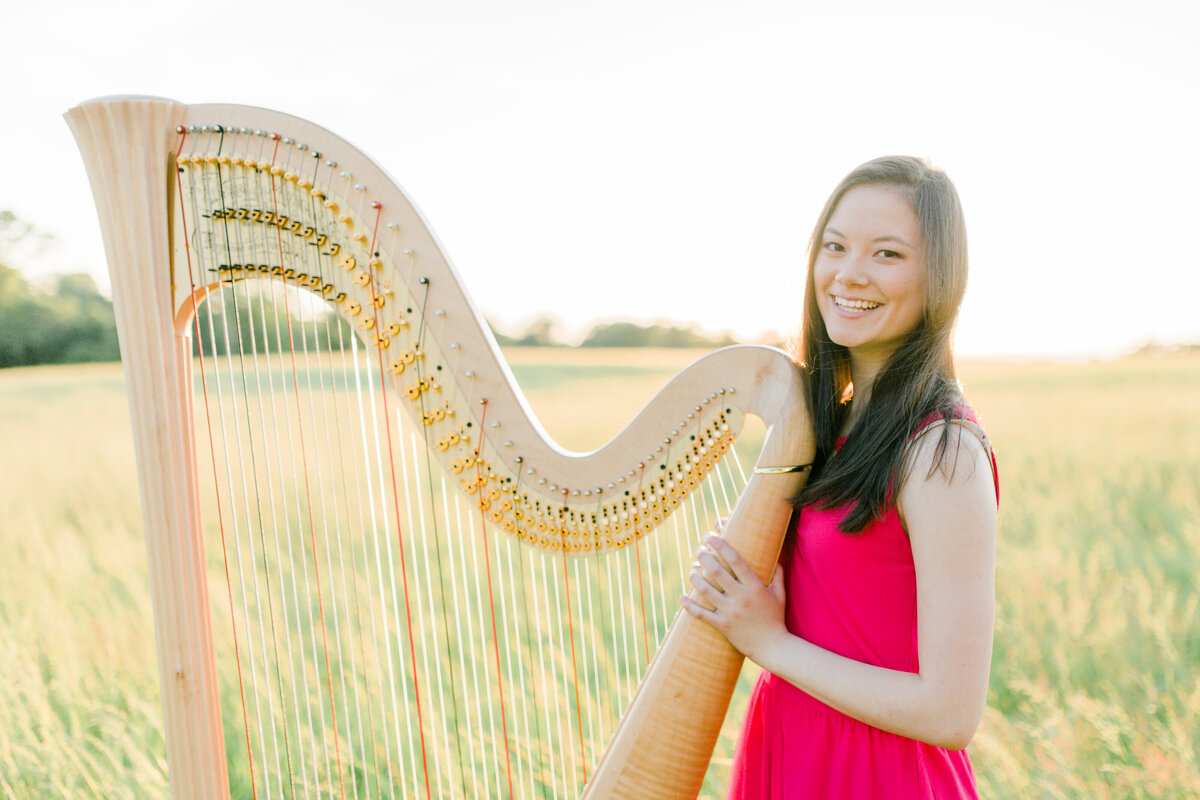 Virginia_Senior_Session_Musician_Harp_Photography_Angelika_Johns_Photography-9492