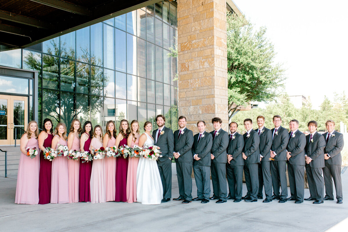 Kaylee & Michael's Wedding at Watermark Community Church | Dallas Wedding Photographer | Sami Kathryn Photography-90