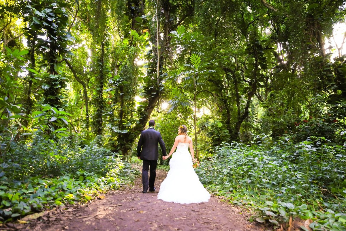 Capture Aloha Photography at The Westin Maui Resort and Spa With  Bride and Groom at stunning beauty of nature