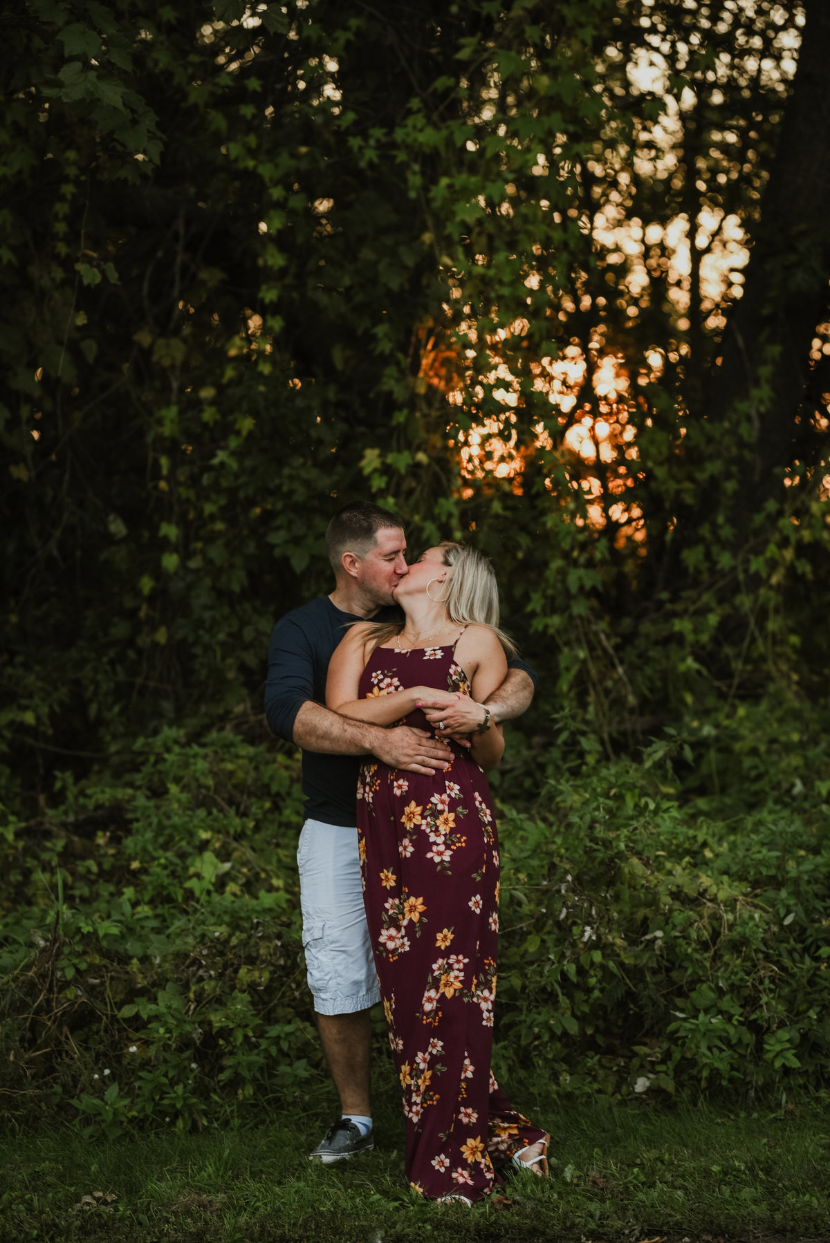 beyond the pines photography golden hour session