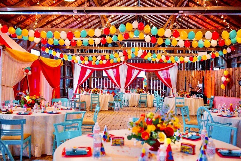 Circus Themed 1st Birthday Indianapolis Party Planner_0109