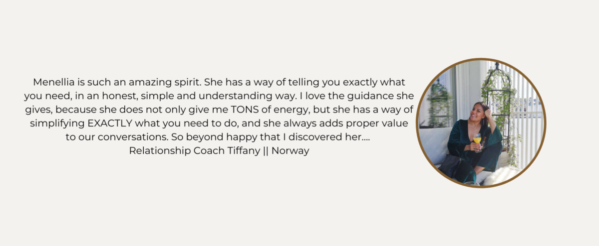 Coaching Testimonial - Tiffany Gnaly