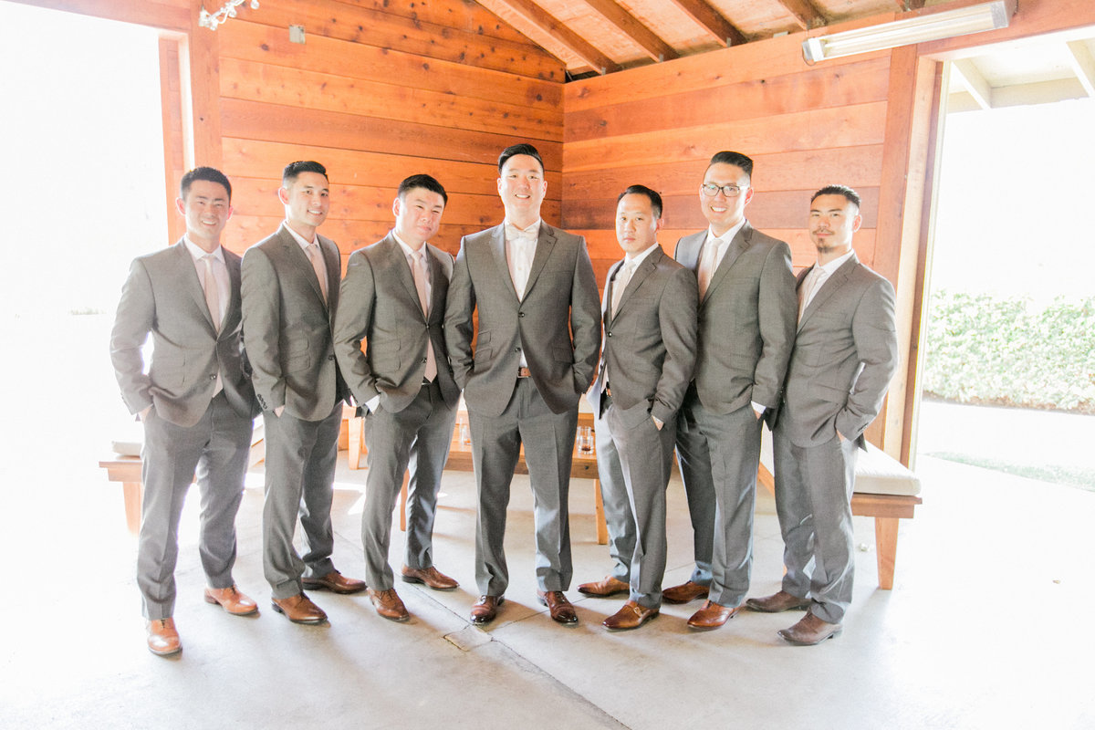 Ted Baker Groomsmen Suits