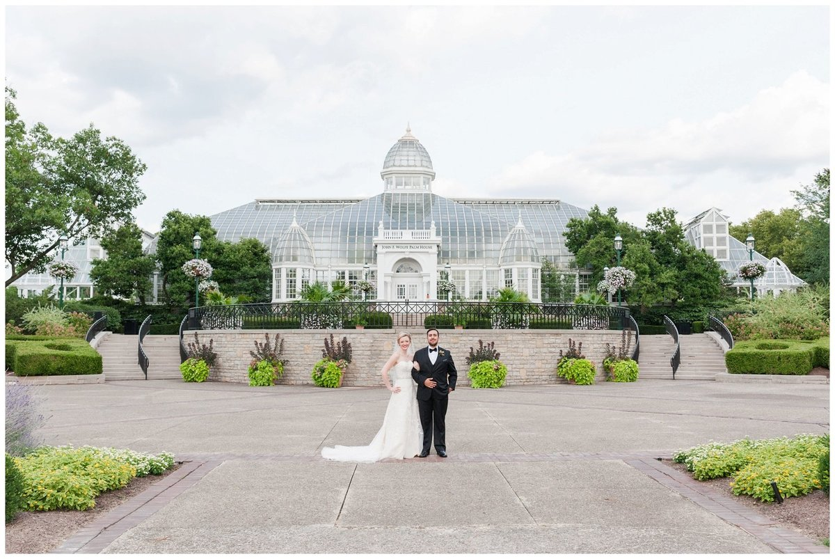 Franklin Park Conservatory Wedding The Palm House Bridal Garden Grove_0009