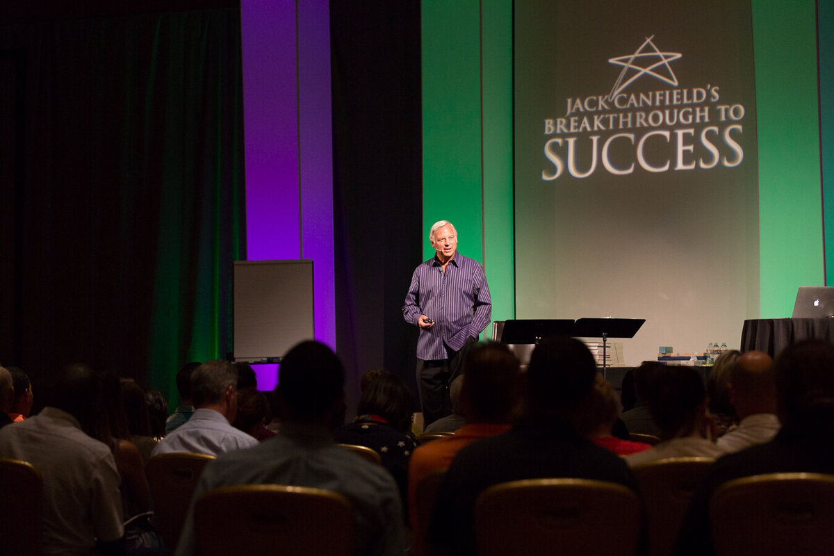 Jack Canfield at Breakthrough to Success