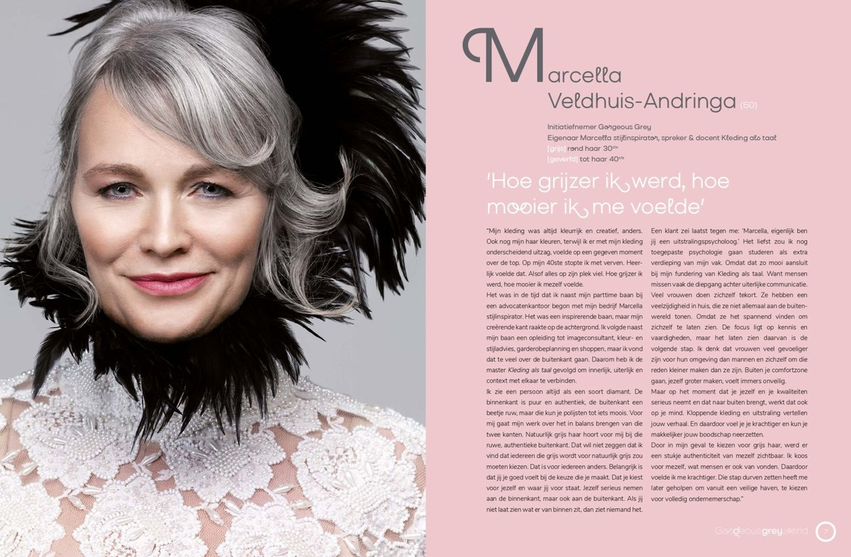 Gorgeous Grey Interview Marcella stijlinspirator