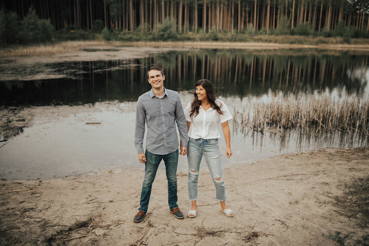 engagement photos for the wild in love