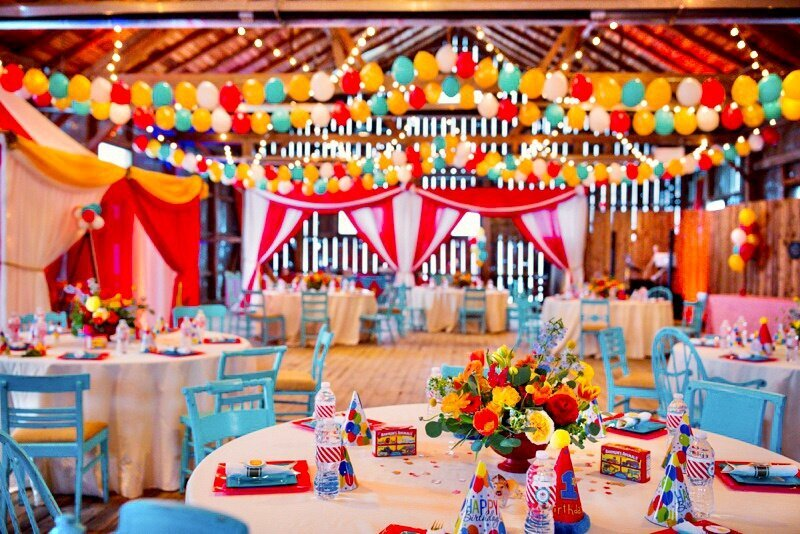 Circus Themed 1st Birthday Indianapolis Party Planner_0131