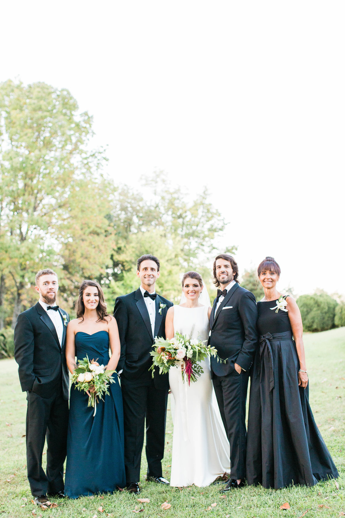 Charlottesville formal wedding portrait