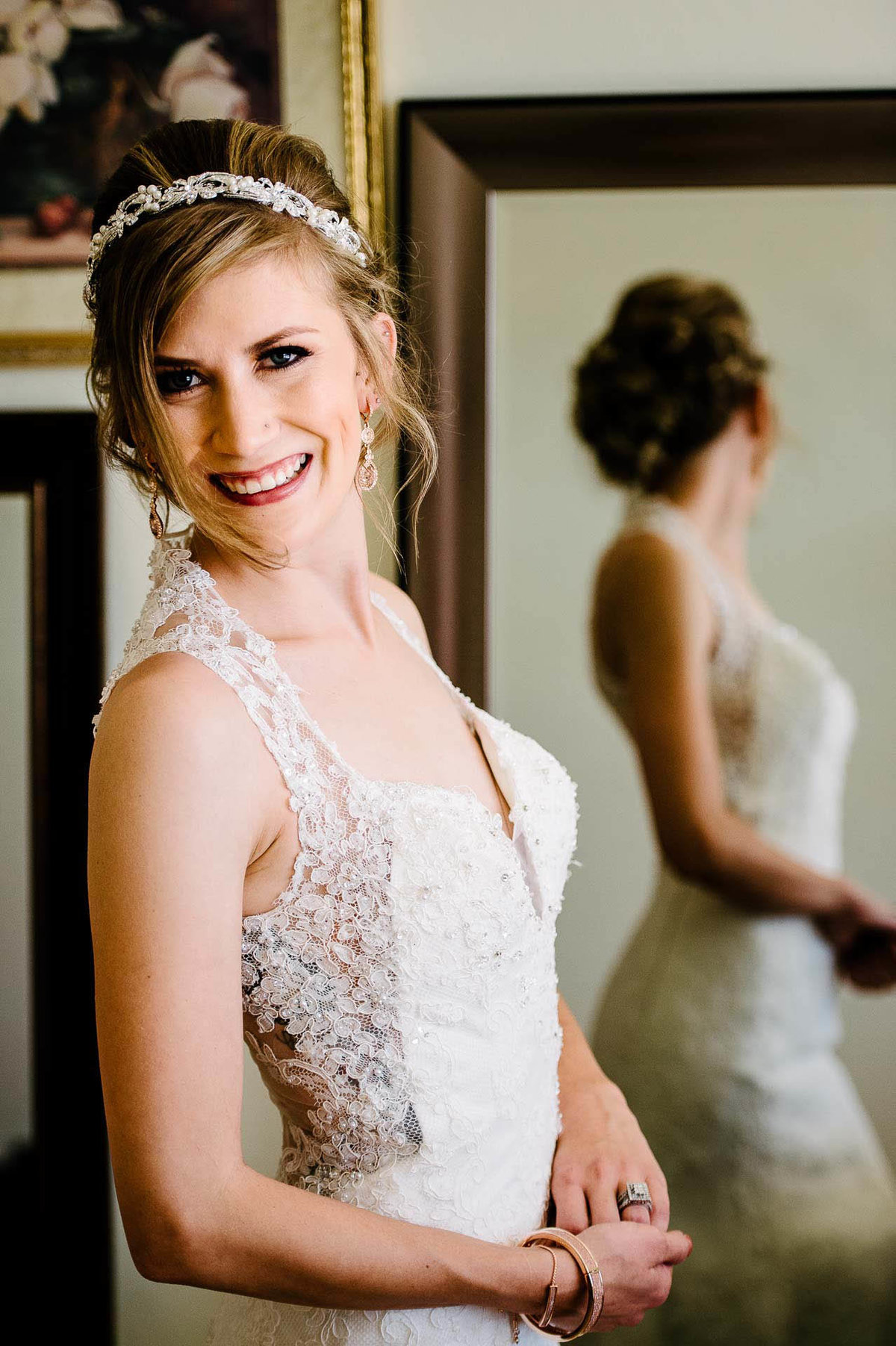 wedding portrait of a bride
