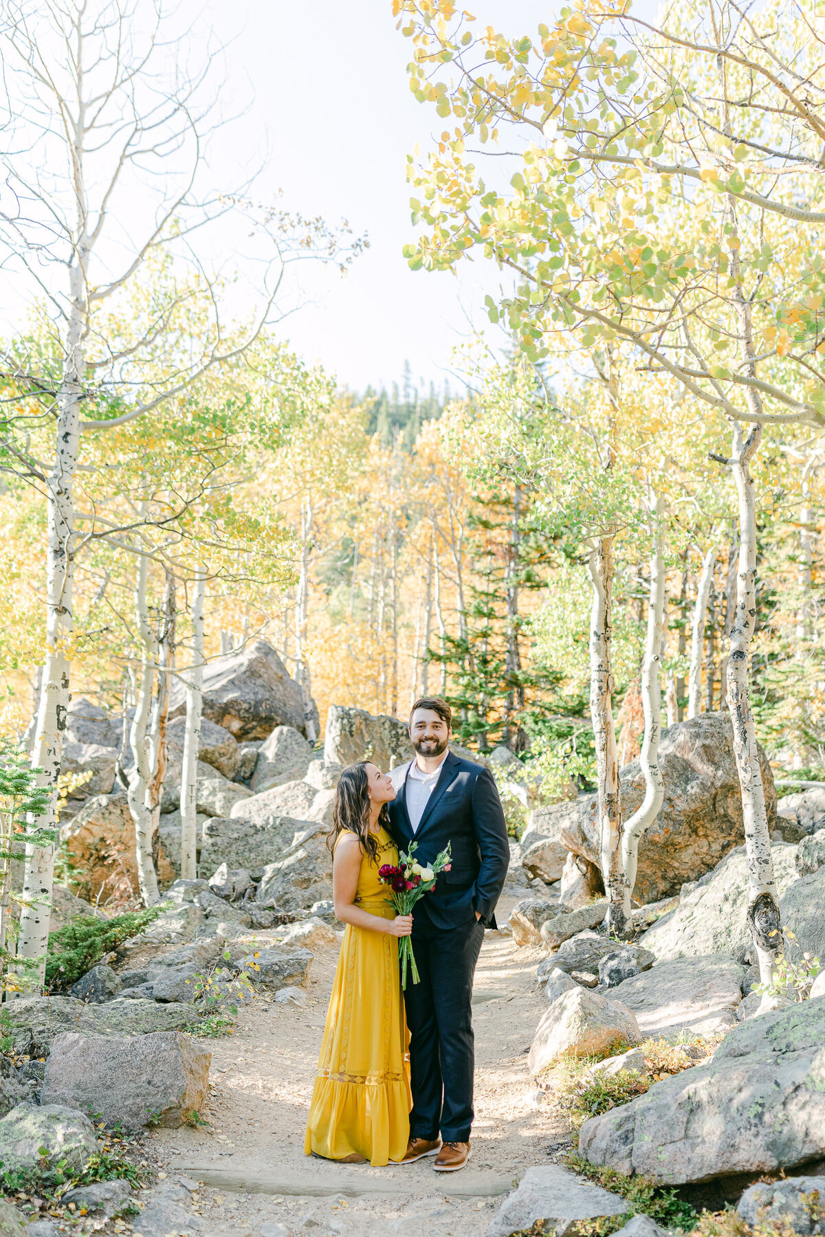 Leidy and Josh Photography | Rocky Mountain Colorado Engagement-20