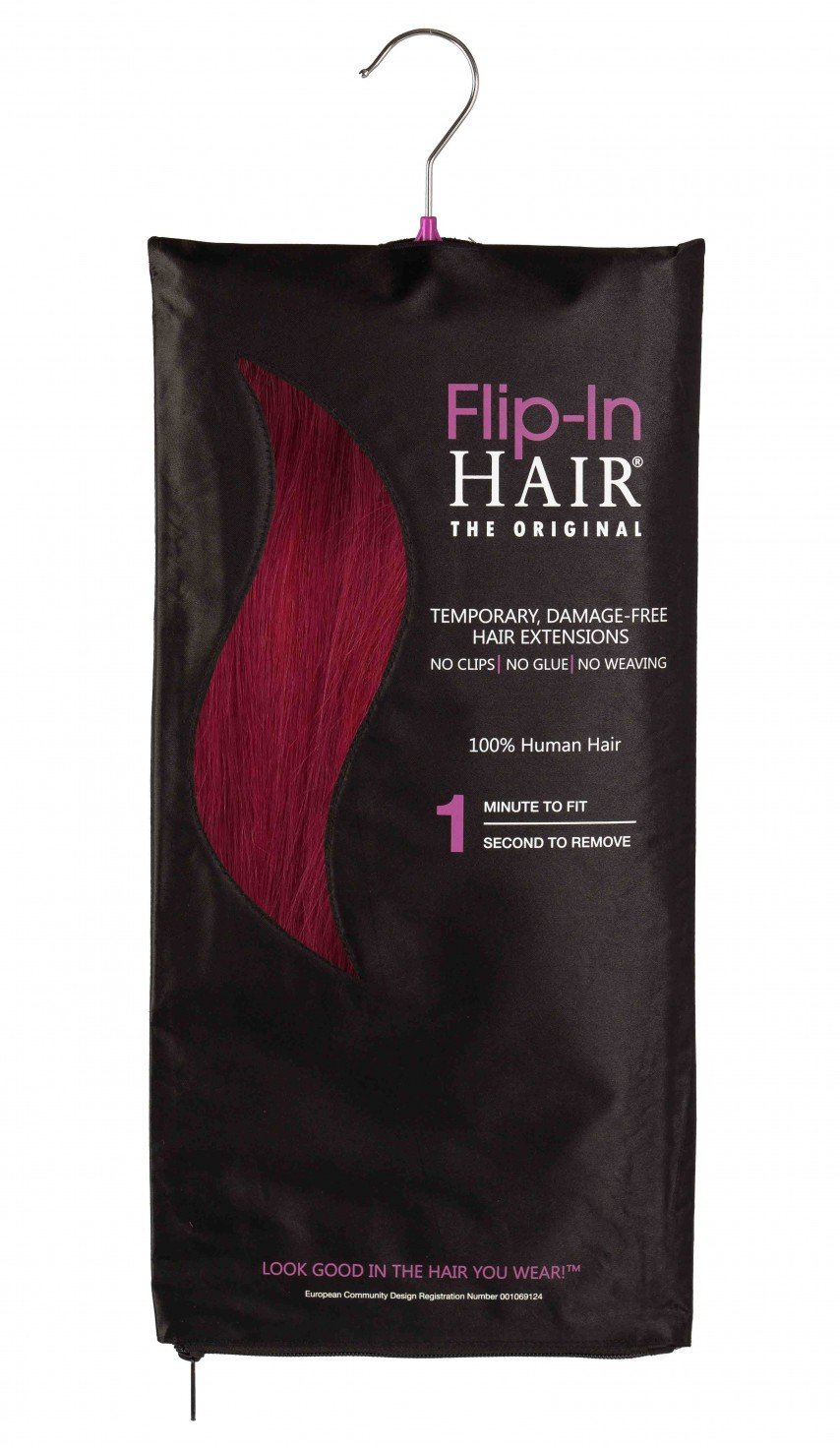 Flip-In Hair Original Cranberry