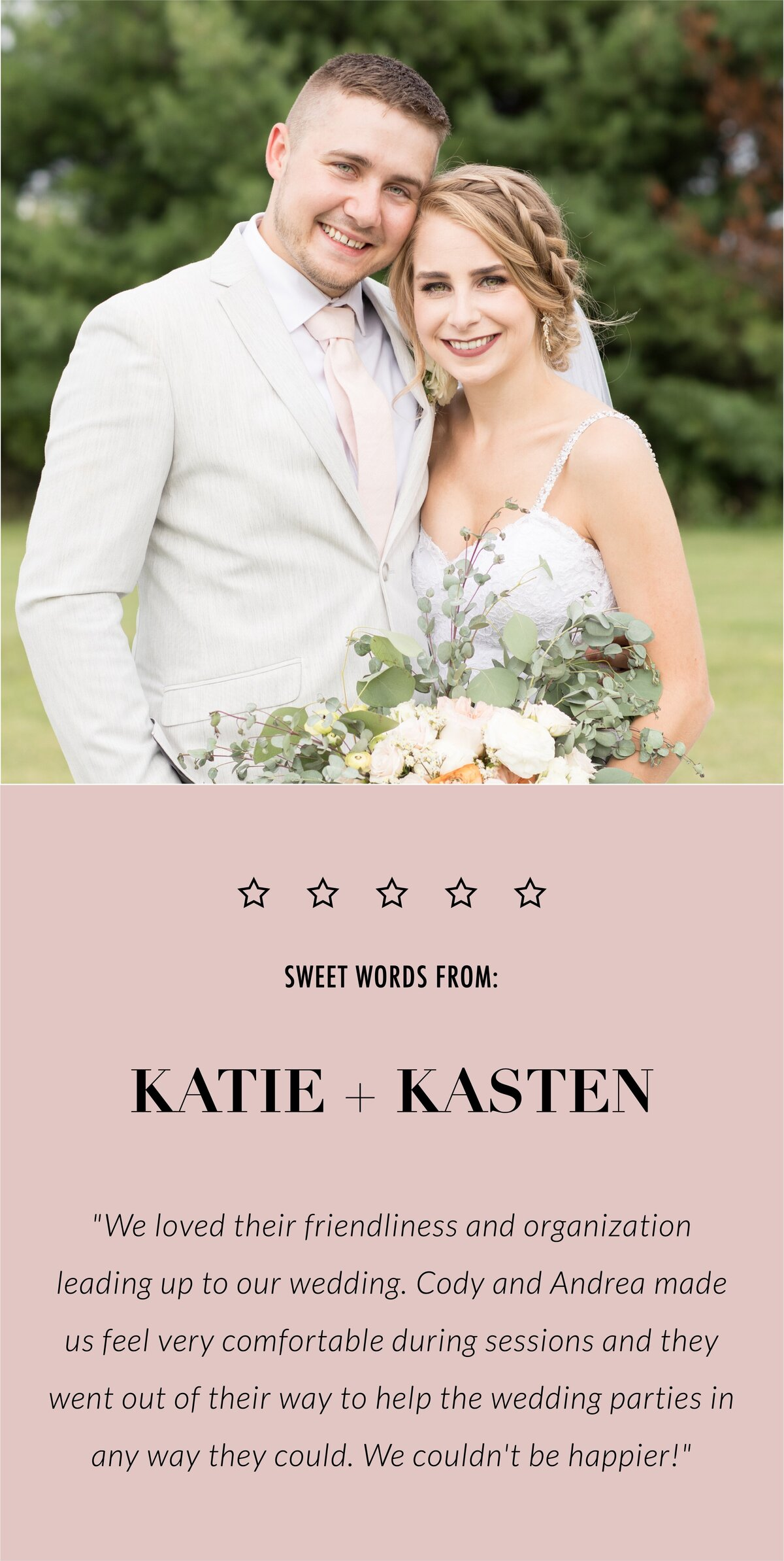 Katie and Kaston review-mobile