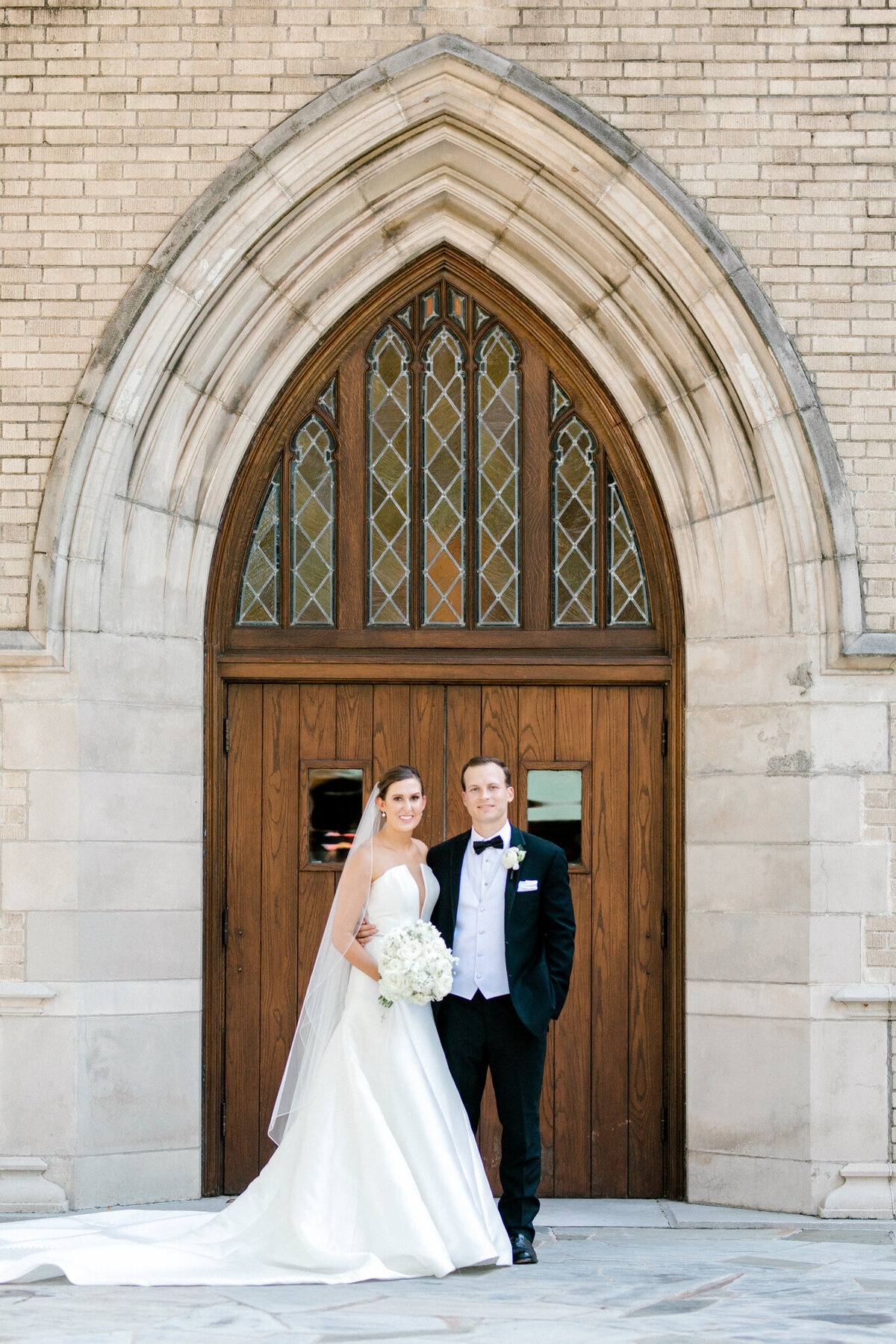 Wedding at the Crescent Court Hotel and Highland Park United Methodist Church in Dallas | Sami Kathryn Photography | DFW Wedding Photographer-16