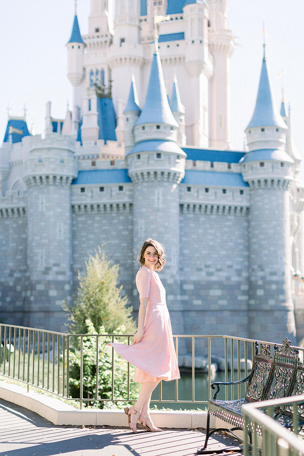 Brightly & Co. Walt Disney World Branding Session Magic Kingdom Photographer Casie Marie Photography-66