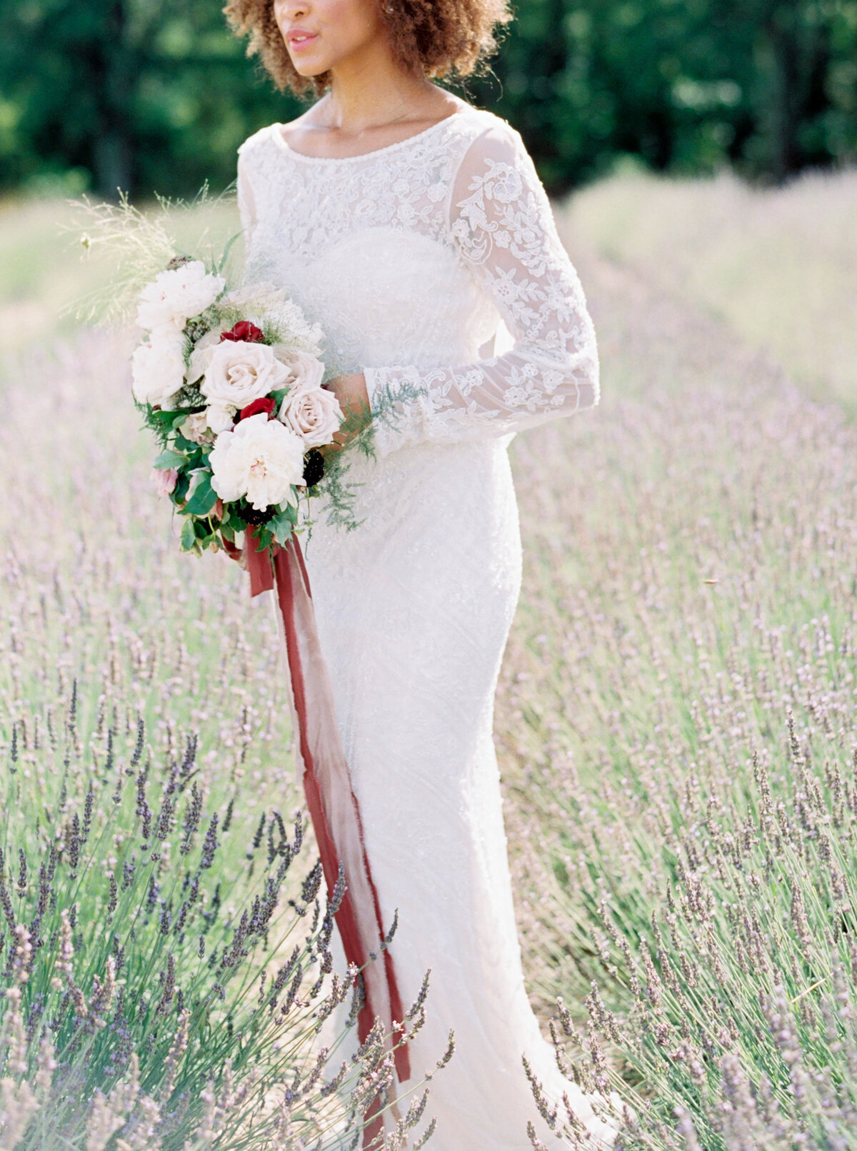 Allora & Ivy Event Co |  Dallas Wedding Planners & Event Designers | Lavender Fields Inspiration at The White Sparrow
