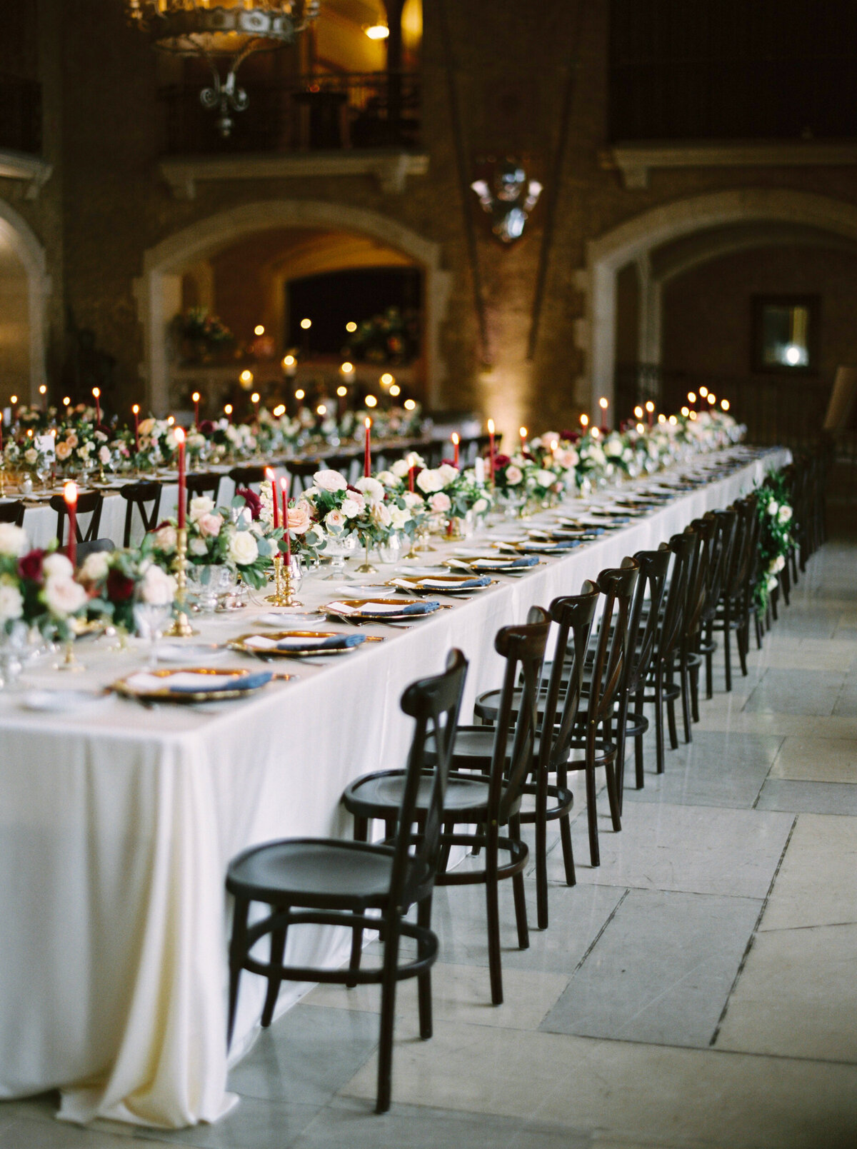 Banff Springs Fall Wedding Inspiration Mt. Stephen Hall