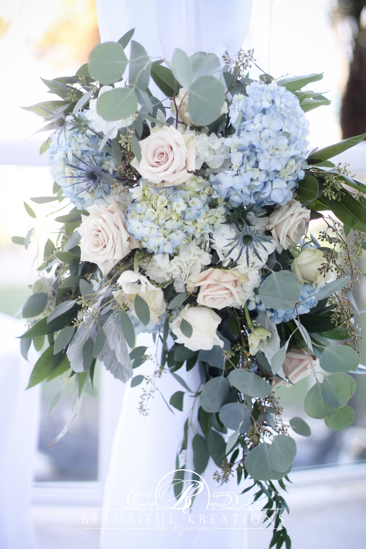 Dusty miller blue weddings
