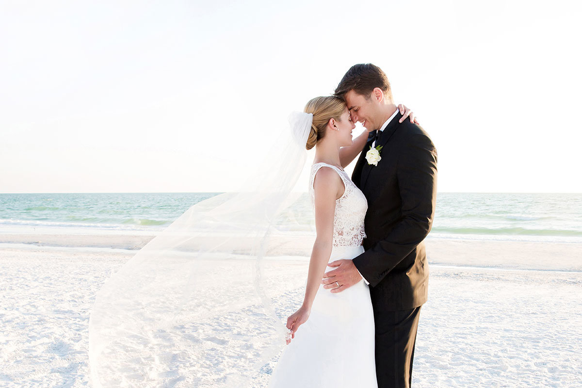 marco beach ocean resort wedding photo