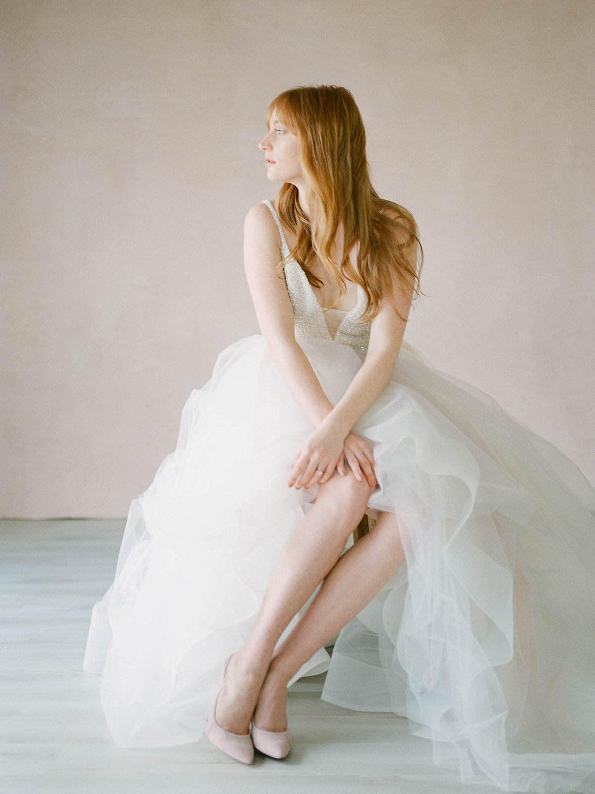 Fine Art Bridal Portraits - Sarah Sunstrom Photography - Film Wedding Photographer - 6