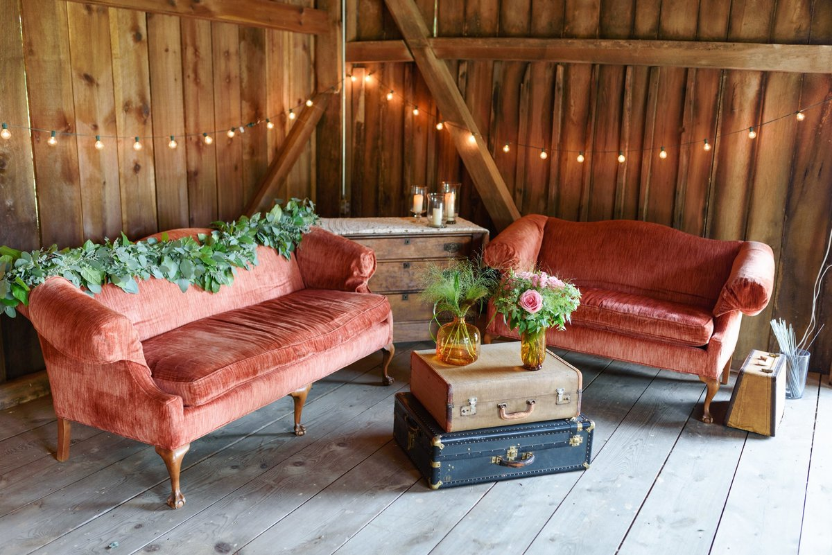 Furniture Staged Barn