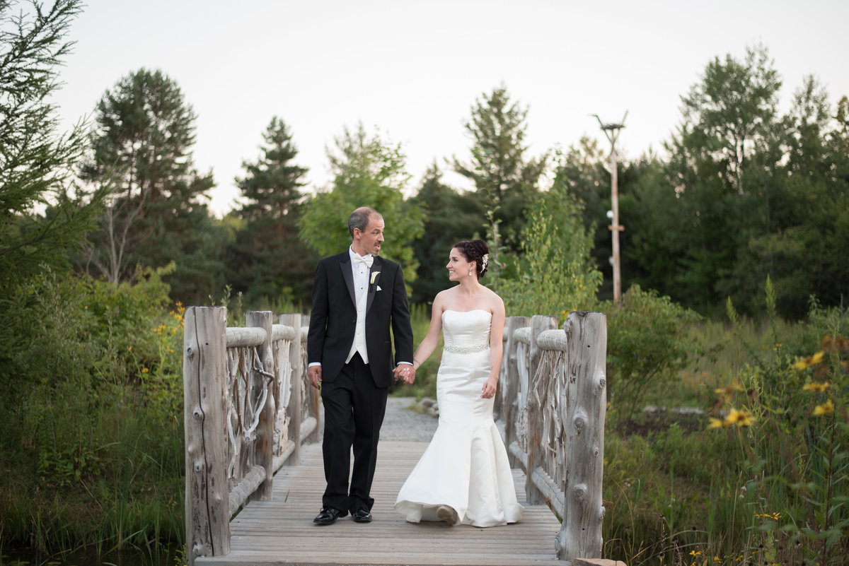 Adirondack Wedding at the Wild Center
