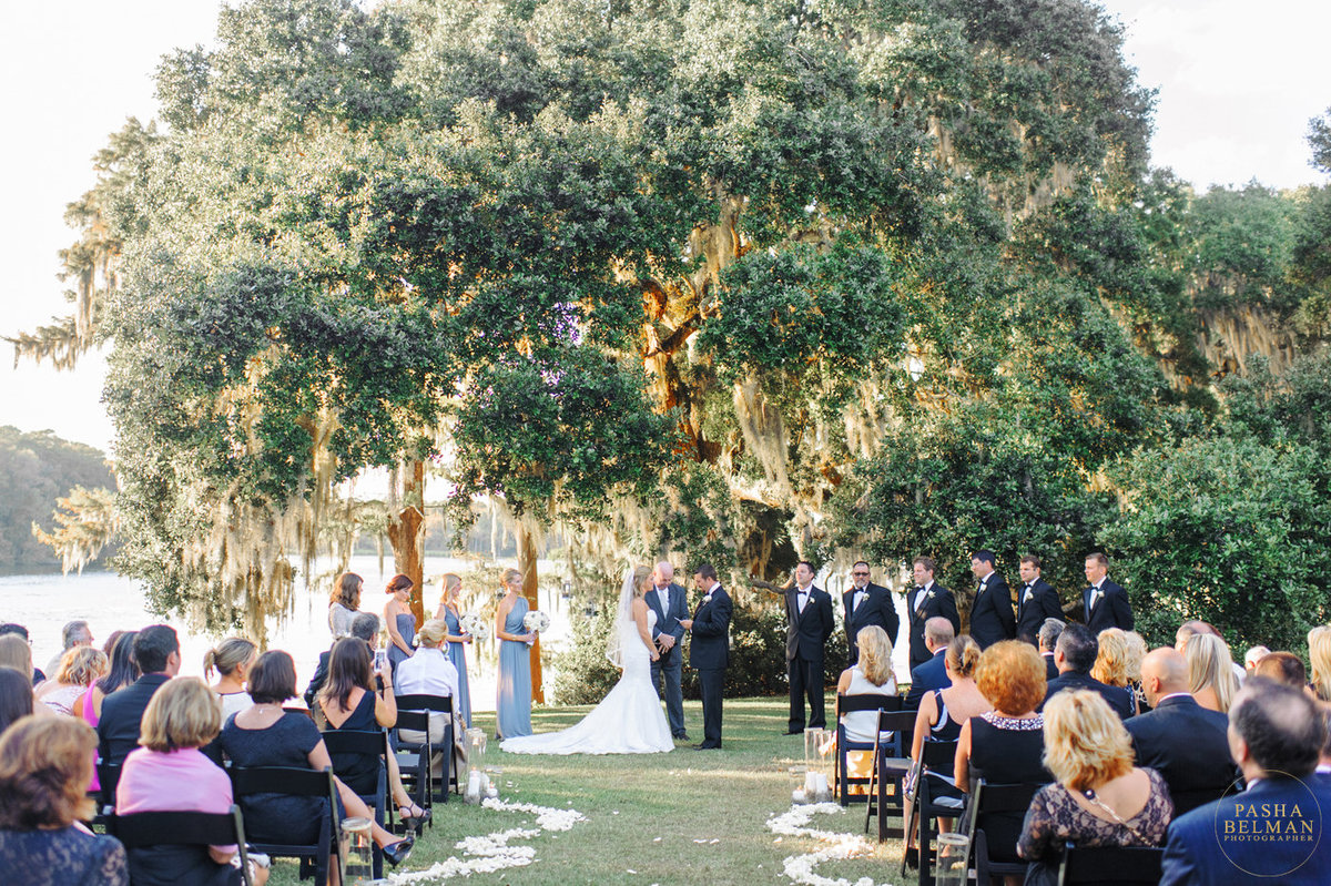 Wedding Photography at Wachesaw Plantation in Murrells Inlet, SC by top Wedding Photographer Pasha Belman-5