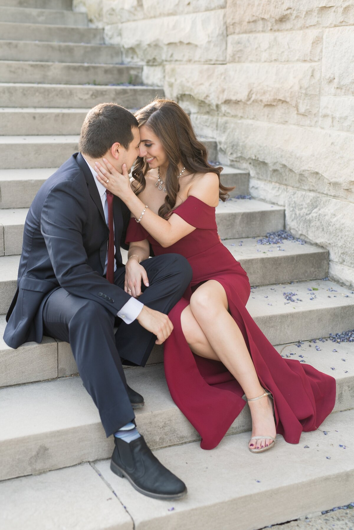 Biltmore Estate Engagement Session 21