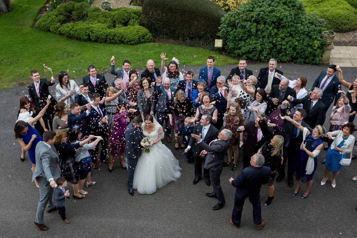 confetti at mount somerset hotel