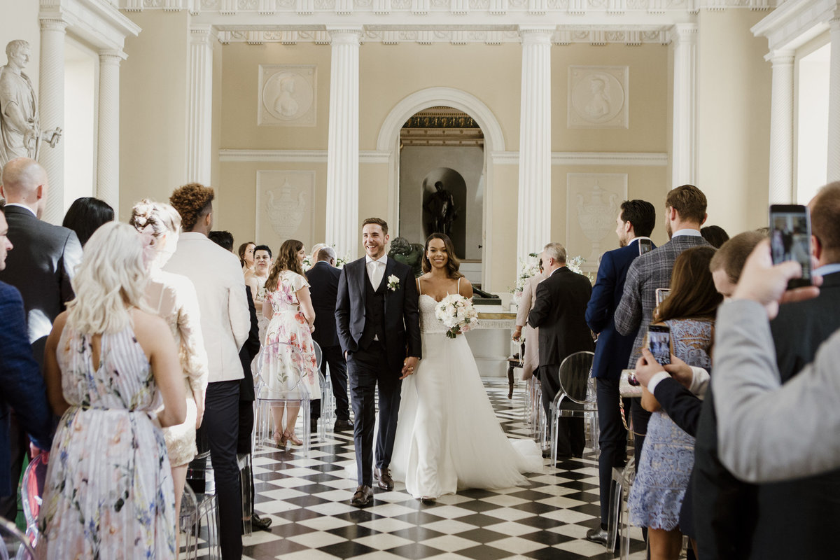 Syon Park Wedding Ceremony Luxury London Wedding