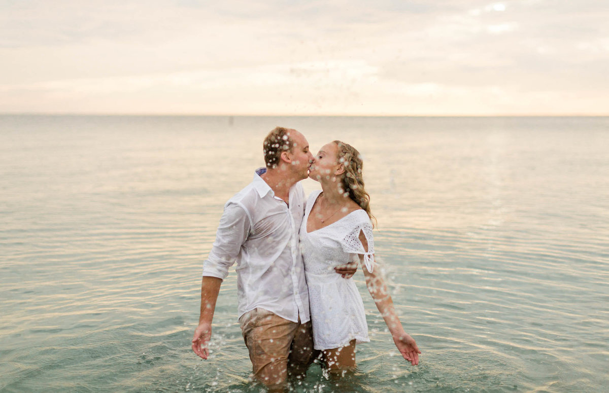 delnor wiggins pass naples beach florida engagement photos
