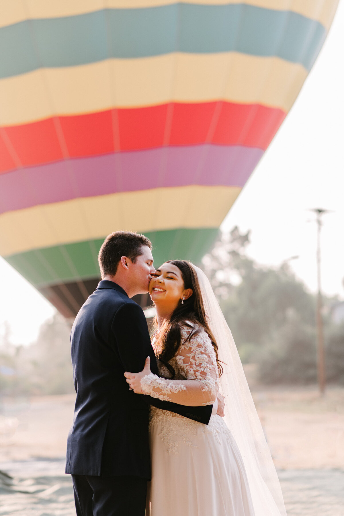 Hot Air Balloon Elopement Marie Monforte Photography-106