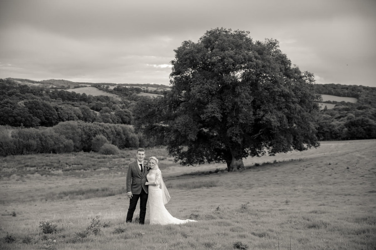 Rural wedding Dartmoor Devon