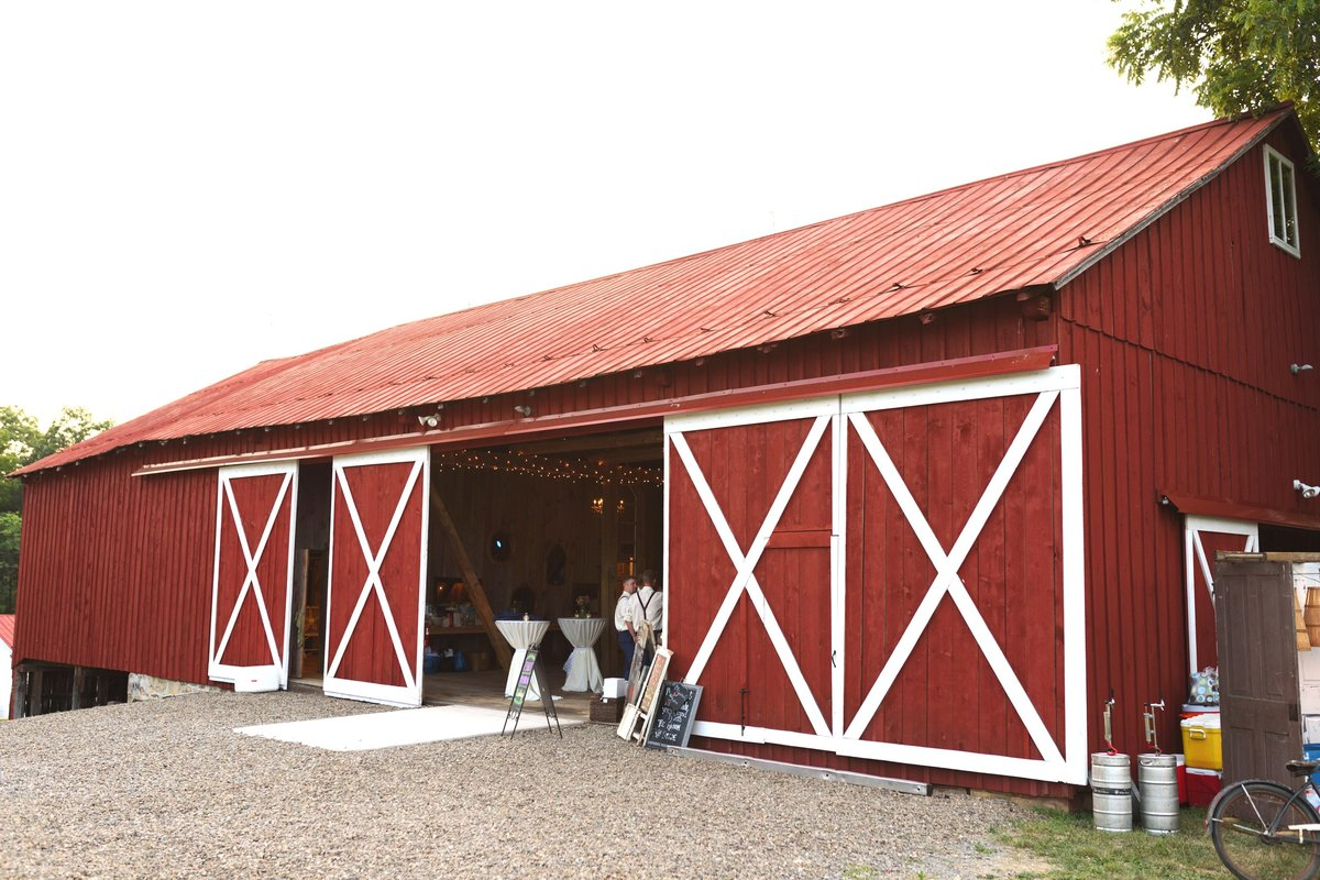 Reception Front Barn