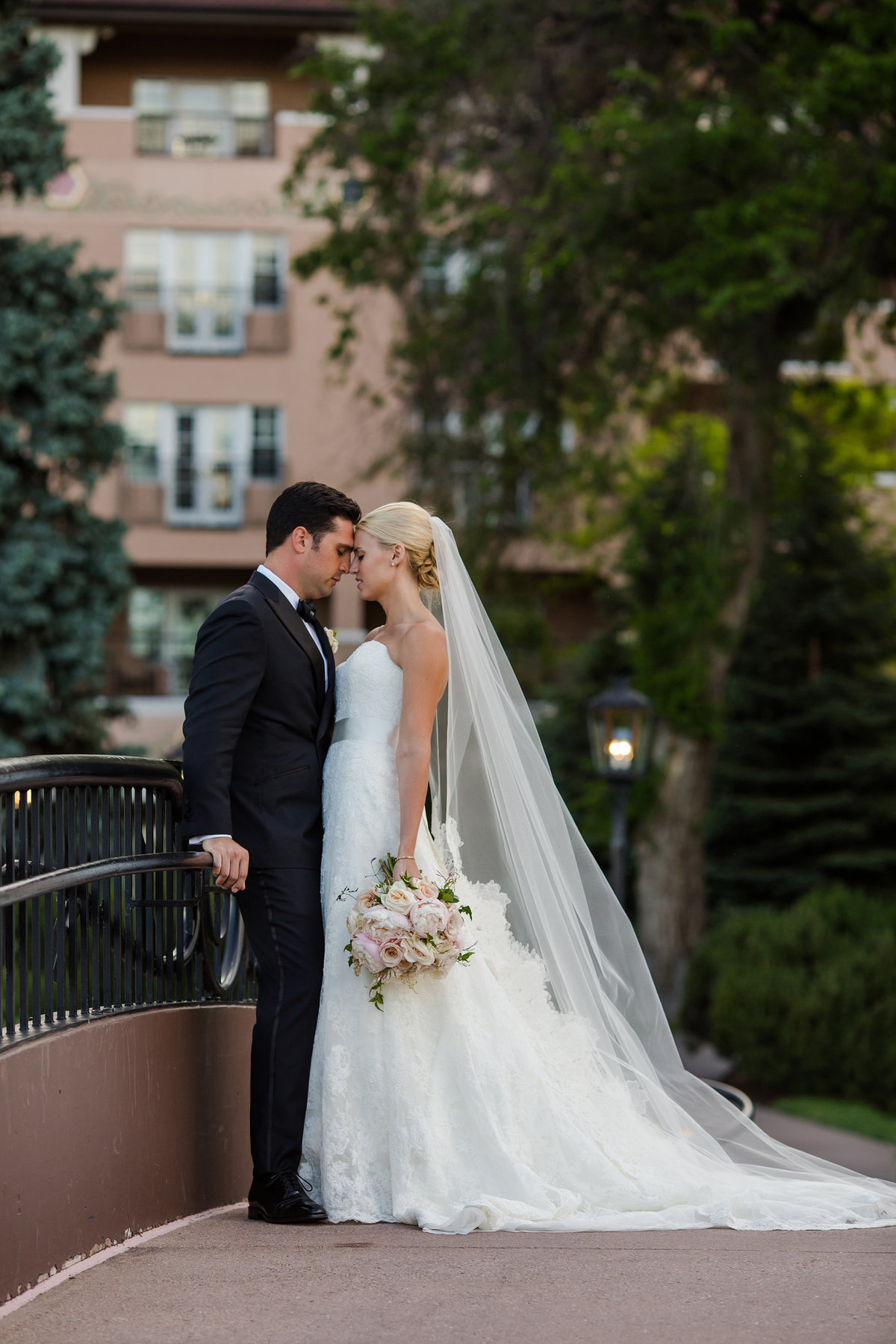 Wedding day at the broadmoor hotel